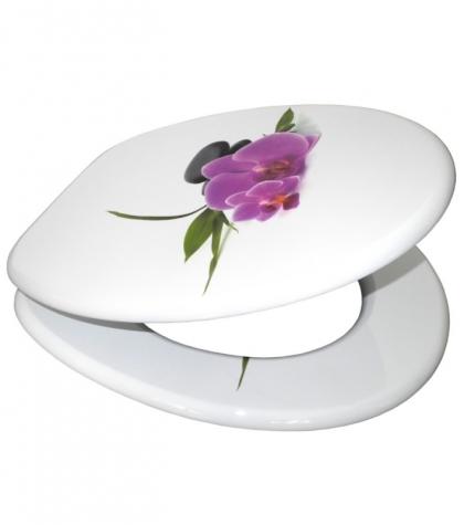 wc sitz mit absenkautomatik orchidee sanilo. Black Bedroom Furniture Sets. Home Design Ideas